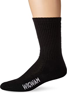 product image for Wigwam Mens Hot Weather Bdu Pro Sock, Black, Medium