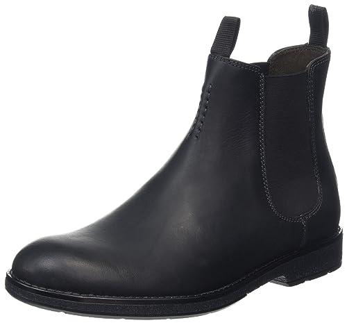 78268e4ded6 Clarks Hinman Chelsea, Botas Hombre: Amazon.es: Zapatos y complementos