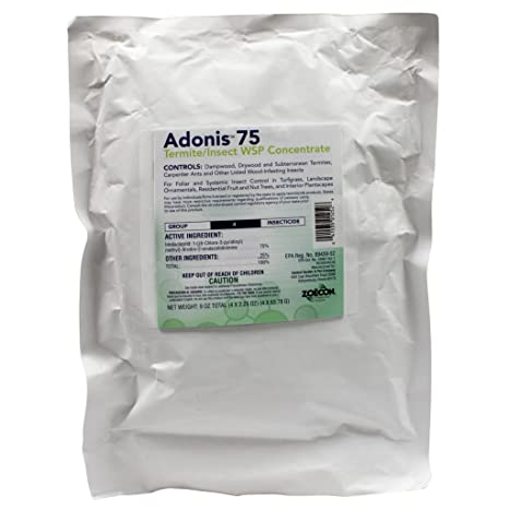 Adonis 75 WSP contains Imidacloprid (4 x 2 25 oz  bags) by ADONIS