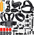 Erligpowht Basic Common Outdoor Sports Kit Ultimate Combo Kit 40 accessories for GoPro HERO 4/3+/3/2/1