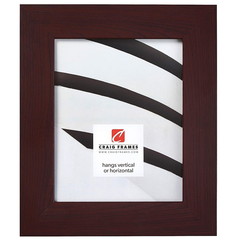 Craig Frames Bauhaus 200 Picture Frame, Dark Mahogany Red, 24 x 30 Inch