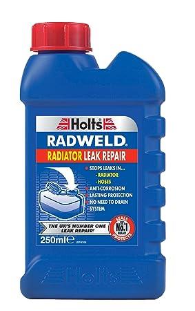 Holts Radweld sella permanentemente las fugas del radiador y se detiene el óxido formando