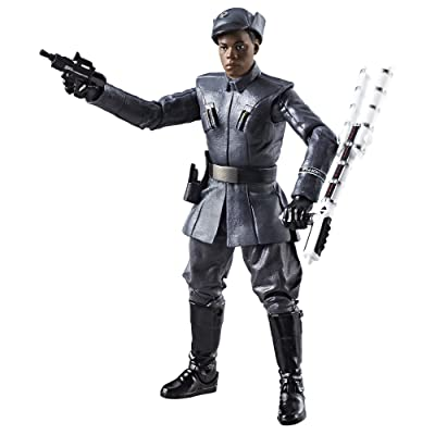 Star Wars The Black Series Episode 8 Finn (First Order Disguise), 6-inch: Toys & Games