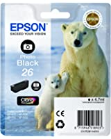 Epson Polar Bear 26 Ink Cartridge - Standard, Photo Black