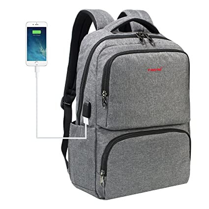 193552f825ee TIGERNU Laptop Backpack for 15.6 inch with USB Charging Port Business  Travel Backpack with Luggage Strap - Buy TIGERNU Laptop Backpack for 15.6  inch with ...