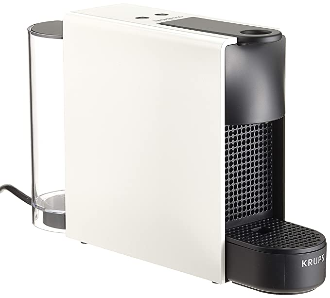 Krups Nespresso Essenza Mini XN1111 Kaffeekapselmaschine (1260 Watt, 0,7 Liter, 19 bar, inklusive Aeroccino Milchaufschäumer)