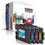 multiPack 4 Cartuchos de tinta compatibles con chip para Ricoh GC 31 , por ejemplo, para Lanier GX 3300 N e / e Series 3300 / e 3350 N / Ricoh Aficio GX e 2600 / GX e 3300 / GX e 3300 s / s 3300 Serie GX / GX 3350 e s