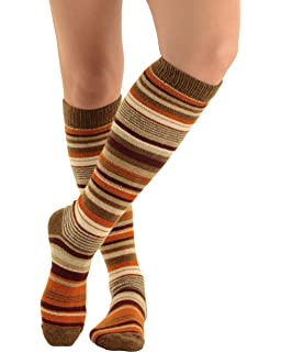 136006fec Womens Slouch Rib Knee Socks Cashmere Virgin Wool Blend Sock 7 Color ...