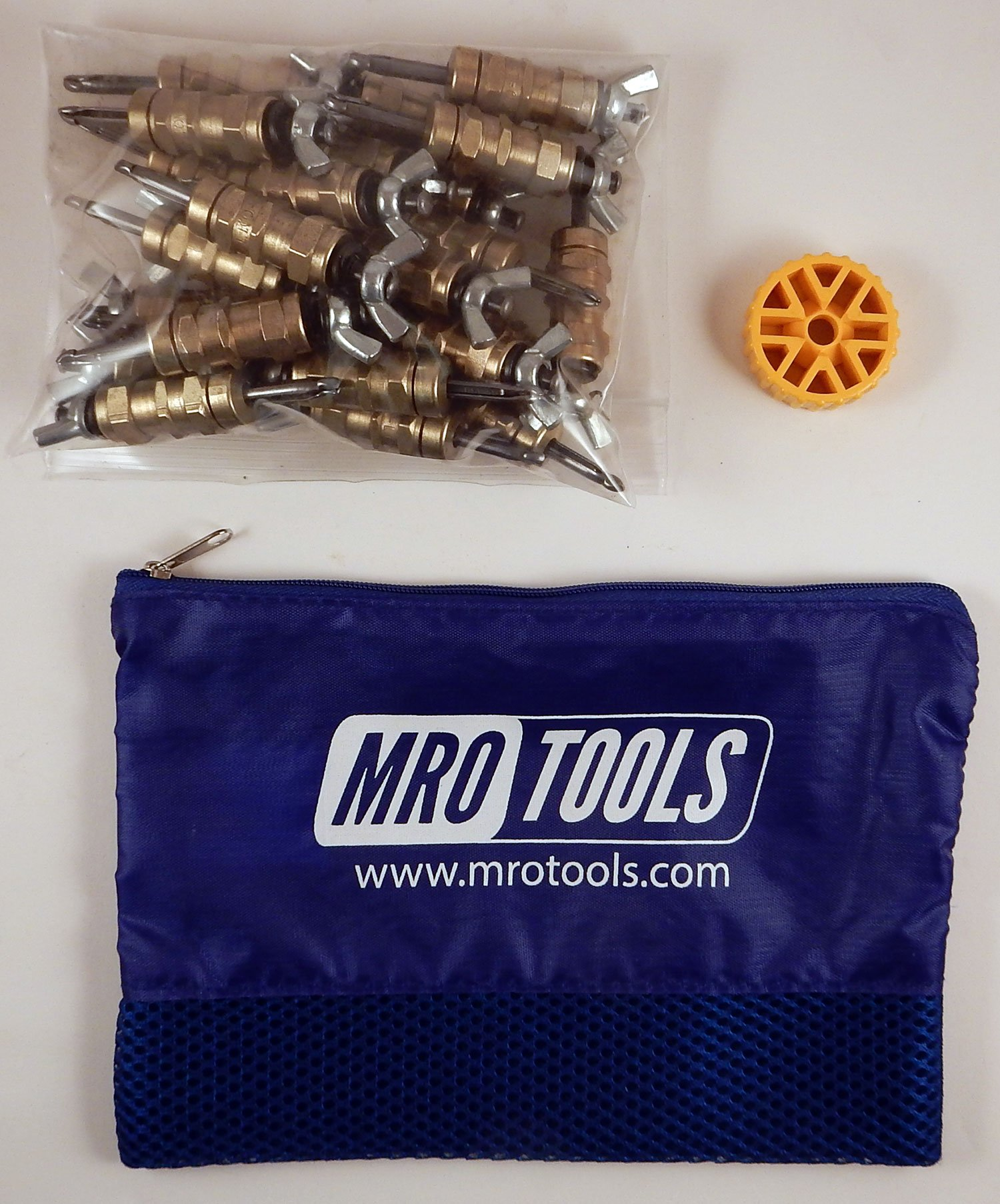 25 3/16 Standard Wing-Nut Cleco Fasteners w HBHT Tool & Carry Bag (KWN1S25-3/16) by MRO Tools Cleco Fasteners