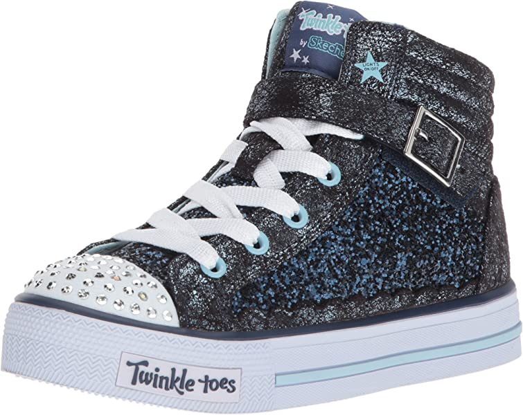 52a13998c744d Skechers Kids Girls  Shuffles-Glitter Girly Sneaker