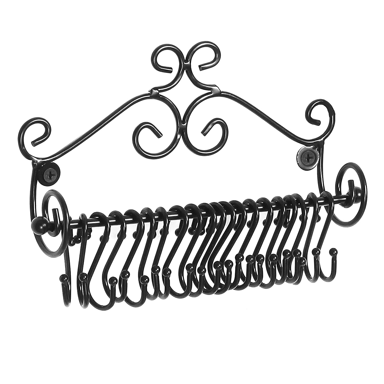 Mounted Scrollwork Jewelry Storage Organizer Image 3