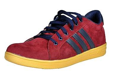 Walk Street Men's Womens Sneakers Red Shoes: Buy Online at