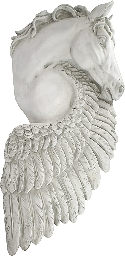 SILVER VINTAGE ANGEL WINGS RING FEATHER STATUE OLD PRIVATE COLLECTION