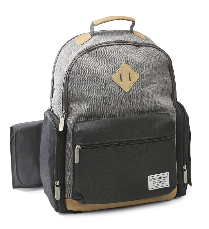 f54b814bf4a3 Amazon.com   Eddie Bauer Bridgeport Places and Spaces Back Pack Diaper Bag