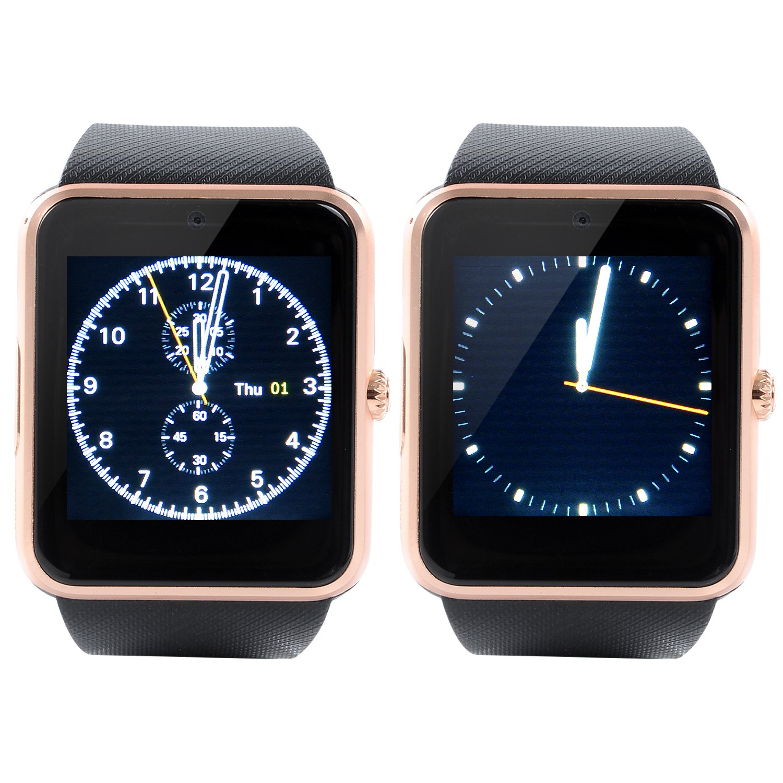 VOSMEP Reloj Inteligente Smart Watch soporte Facebook Twitter Teléfono Inteligente Pulsera 1.54 Pantalla Táctil Cámara para Android Samsung HTC LG ...