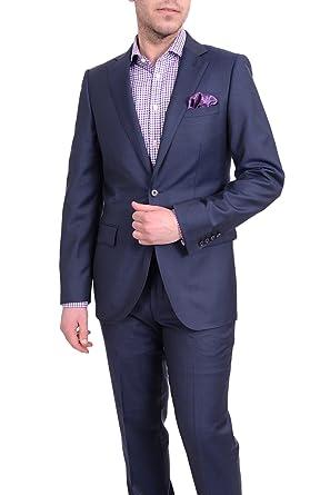 Amazon.com: El traje Depot para hombre Slim Fit azul marino ...