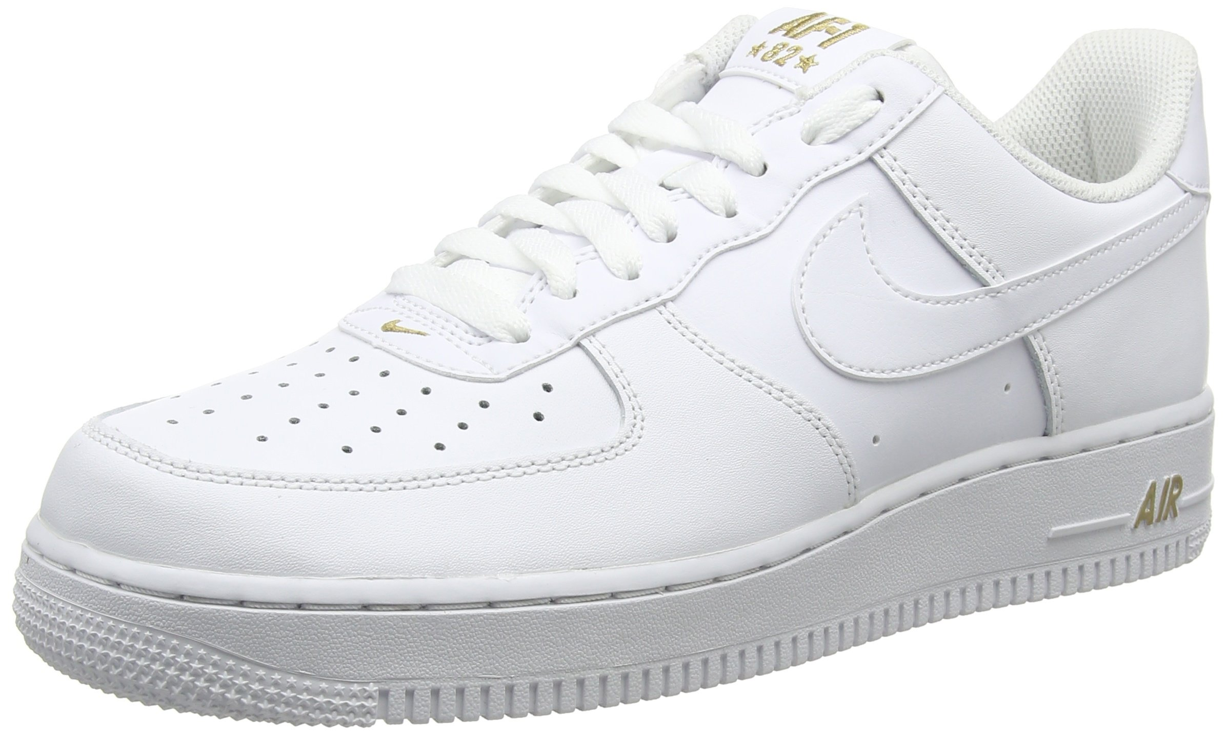 half price buying new stable quality Nike Air Force 1 '07 White/Metallic Gold