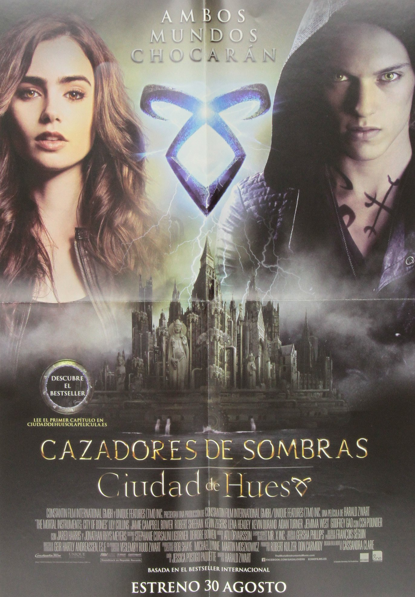 Pack Cazadores S. 1+ poster: Cazadores de Sombras 1 EXPOSITORES Y PLV: Amazon.es: Clare, Cassandra: Libros
