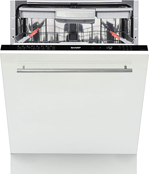 Sharp Home Appliances QW-GD53I443X lavavajilla Totalmente ...