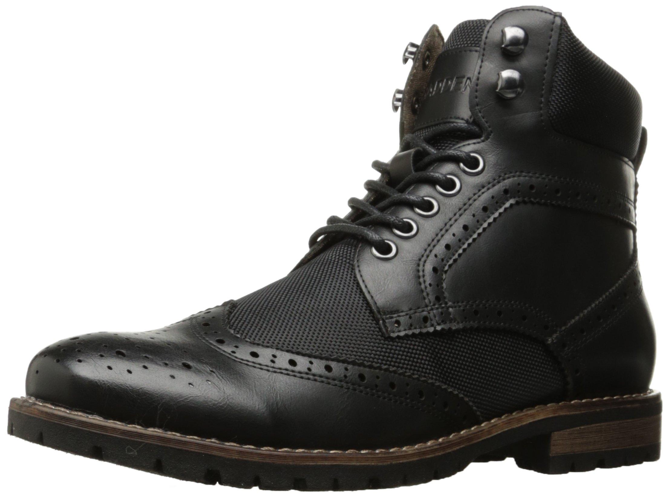 Madden Men's M-Sorri Combat Boot, Black, 10.5 M US