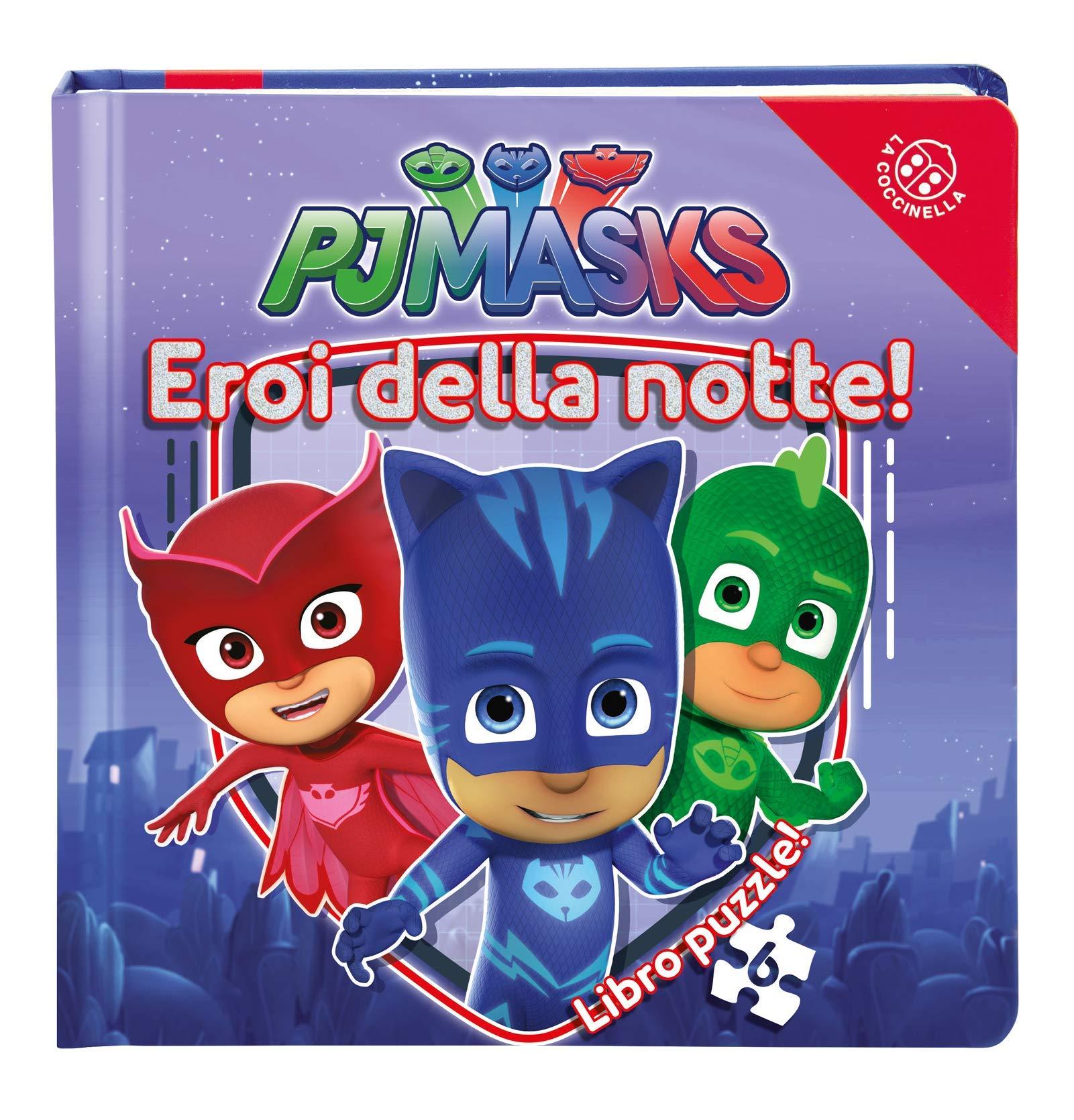 Eroi della notte! Pj Masks. Libro puzzle. Ediz. a colori ...