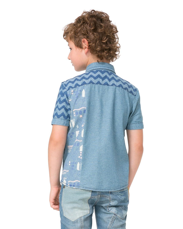 Desigual Boys Shirt Surfer Sizes 4-14