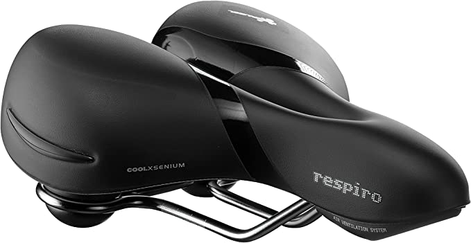 Black Selle Royal Lookin Women/'s Moderate Cool Xsenium Bicycle Saddle