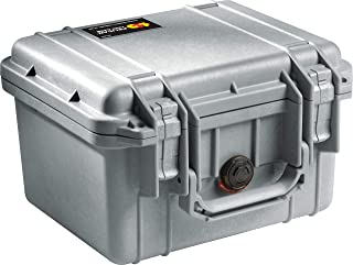 product image for Pelican 1300 Camera Case With Foam (Silver)
