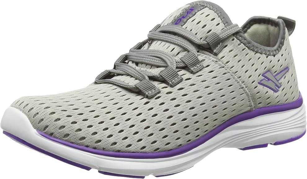 Gola Sondrio, Zapatillas de Running para Mujer, Gris (Grey/Purple), 36 EU: Amazon.es: Zapatos y complementos