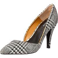 Jaggar Women's Divergent Houndstooth Trainer Shoes, Black