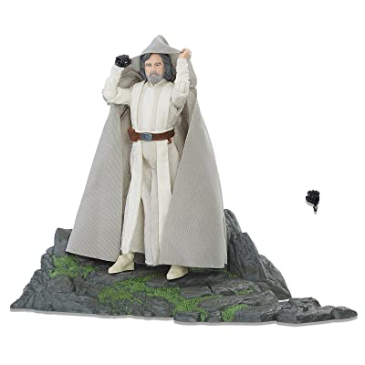 Star Wars C3196 The Black Series Luke Skywalker (Jedi Master) on Ahch-to Island: Toys & Games