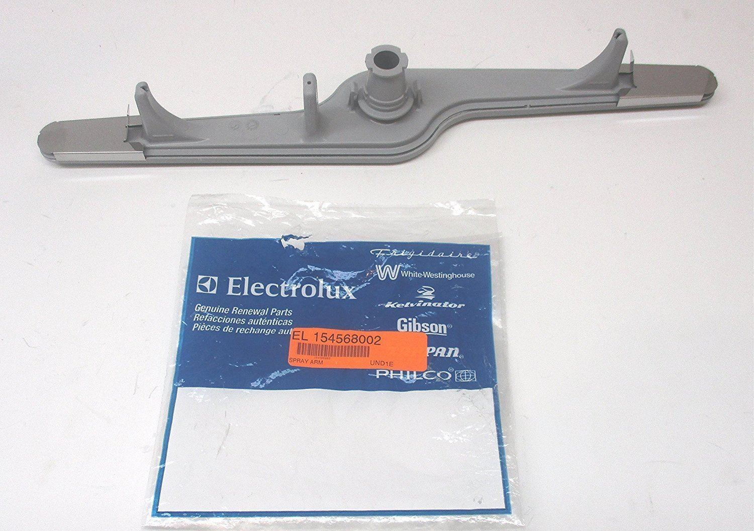 Electrolux Part Number 154568002: Spray Arm Gray