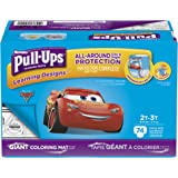 Pull-Ups Learning Designs Training Pants for Boys, 2T-3T (18-34 Lbs.), 74 Count, Toddler Potty Training Underwear, Packaging May Vary