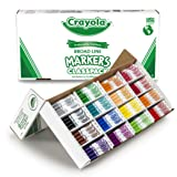 Crayola Classpack Assortment, 256ct Broad Line Markers, 16 Bold Colors, Great for Classroom, Educational, All-Purpose…