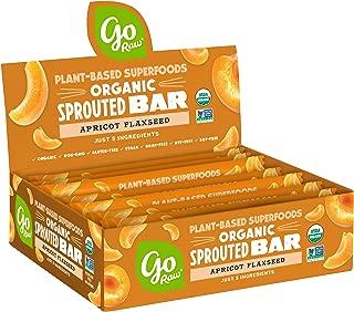 product image for Go Raw Seed Bars, Apricot Flaxseed | Keto | Gluten Free Snacks | Vegan | Organic | Paleo | Superfood (10 Bars)