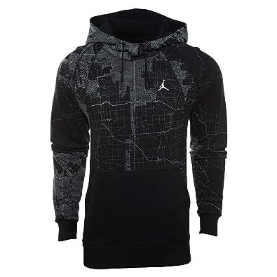 6c8022a0c52 Jordan \City of Flight\ Pullover Hoodie Mens Style: 911315-010 Size:
