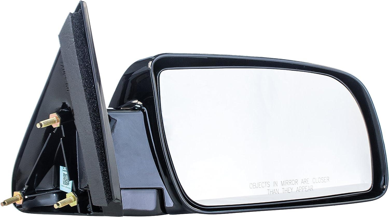 Pair Set Manual Side View Mirrors w//Metal Bases Replacement for Chevrolet GMC Pickup Truck Blazer Suburban Yukon Tahoe 15764759 15764760