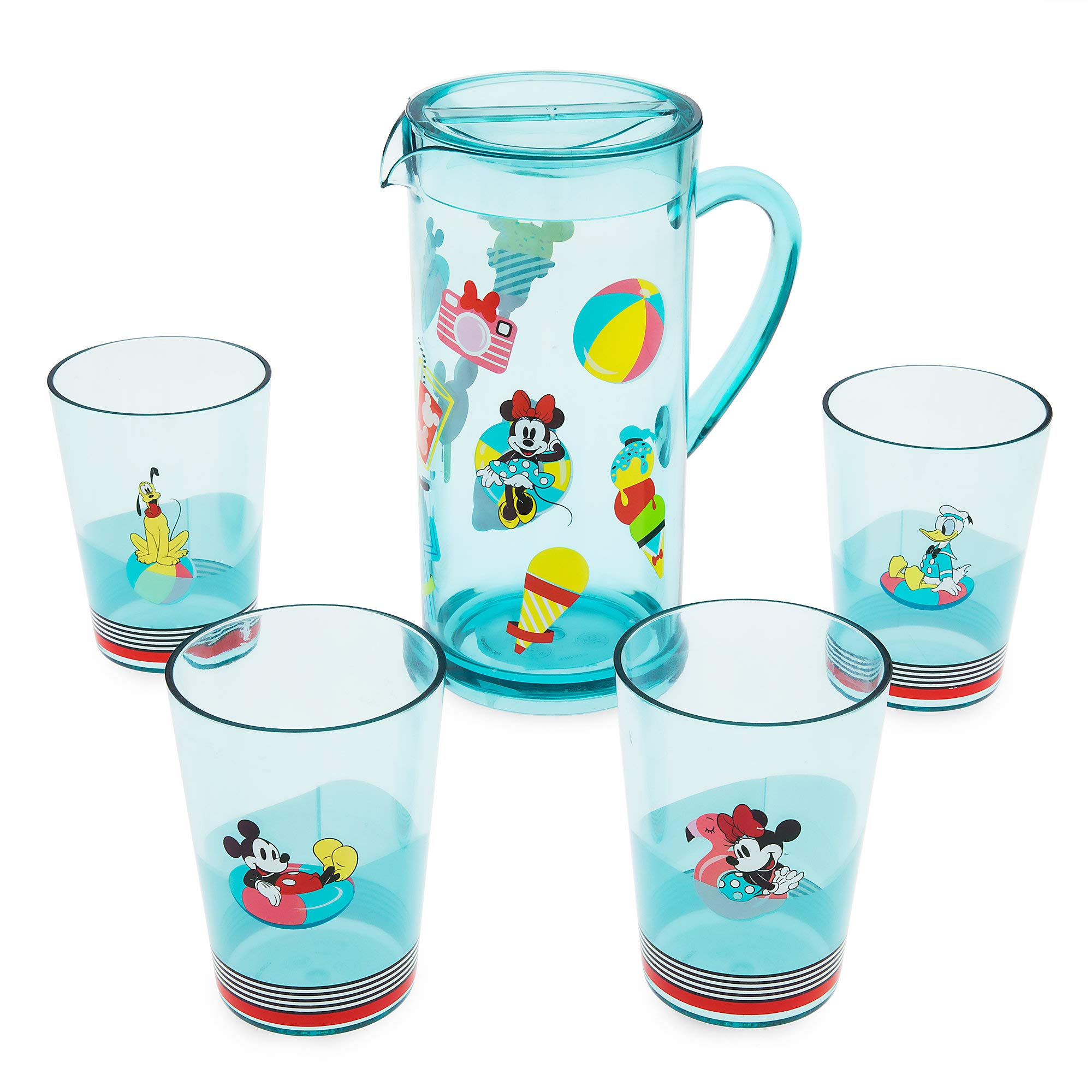 Disney Mickey Mouse and Friends Pitcher Set - Disney Eats