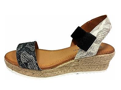 3ba034c62a2b Eric Michael Women s Anna Black Snake Shoe