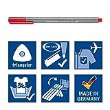 Staedtler Triplus Fineliner Pens, .3mm, Metal