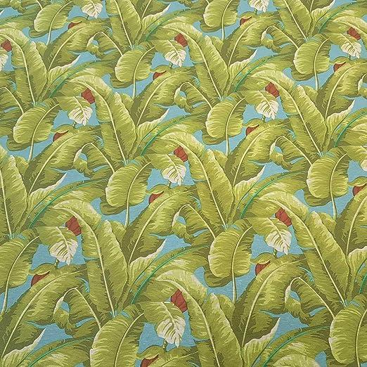 Werthers - Tela por Metros, de algodón, con Recubrimiento, Verde, Azul, diseño de plátanos, Lavable: Amazon.es: Juguetes y juegos
