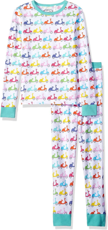 Trimfit Girls Organic Cotton 2-Piece Long Sleeve Dreamwear Pajama Set
