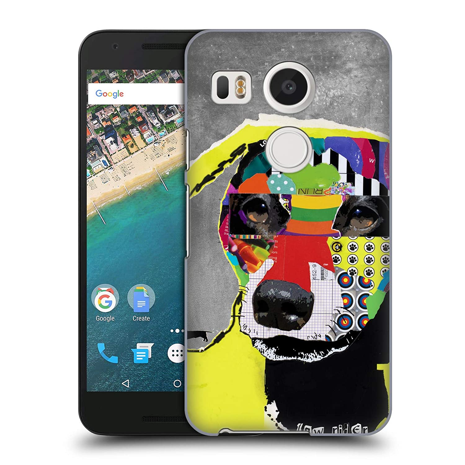 more photos 13074 b9493 Amazon.com: Official Michel Keck Dachshund Dogs 4 Hard Back Case for ...