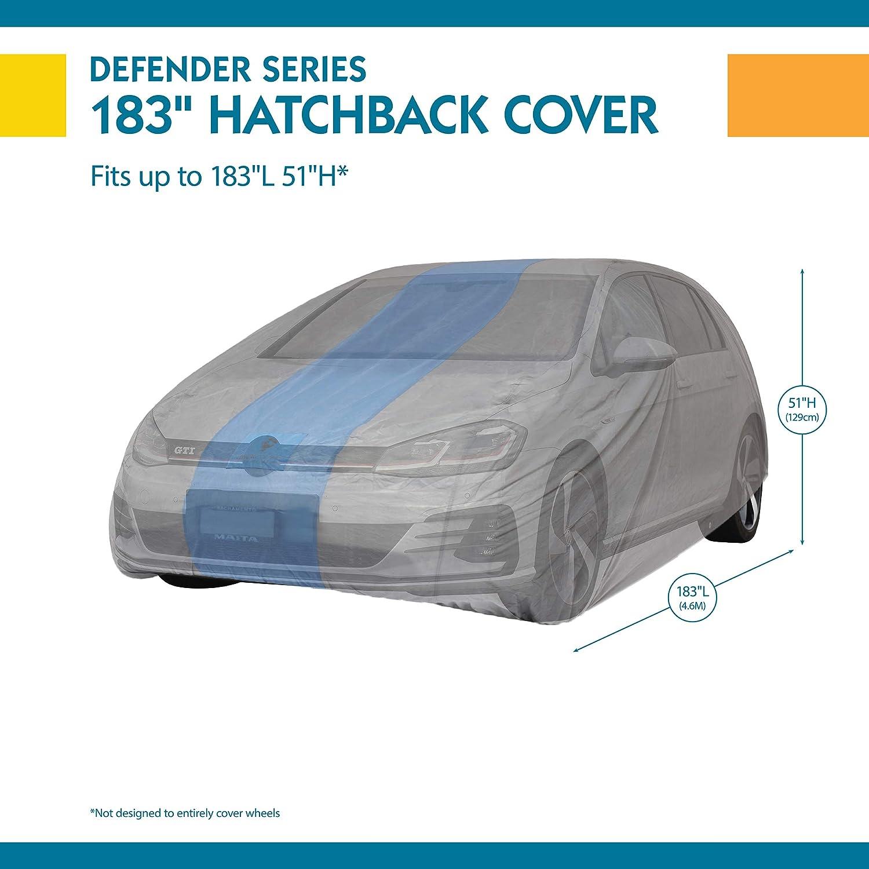 Duck Covers Defender Hatchback Car Cover for Hatchbacks up to 13 5