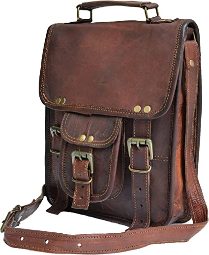 Women Fashion Handbags Mens Solid Color Full Grain Leather Handbag Briefcase Business Casual Mens Bag Cross Section Oblique Layer Leather Computer Bag Handbag Tote Shoulder Purse Crossbody Bags