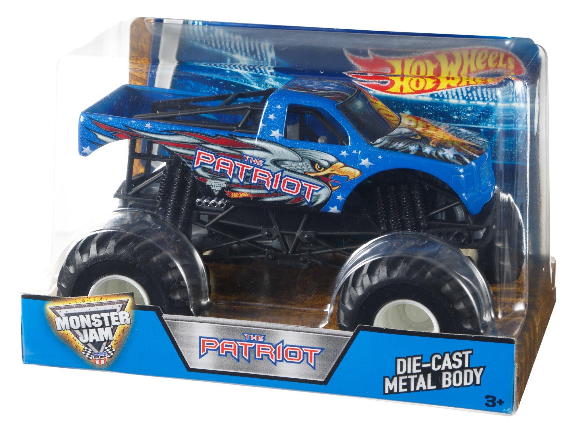 Hot Wheels Monster Jam 1:24 Vehículo Patriot