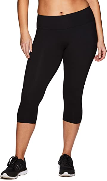 Amazon.com: RBX Active - Leggings capri de algodón y licra ...