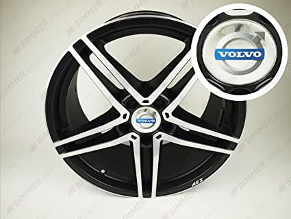 Volvo plata centro rueda Caps 75/69 mm para Dezent, Tomason ...