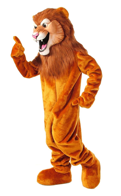 Amazon Com Alinco Lion Mascot Costume Clothing