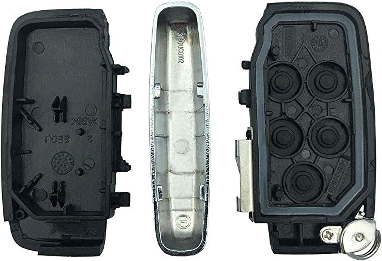BINOWEN Key Fob Case Key Shell Replacement for Land Rover LR2 Land Rover LR4 Range Rover Sport Range Rover Evoque